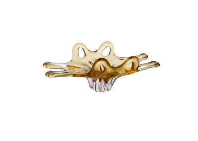 HUTNÍ SKLO MÍSA 5405e-10406-450 amber