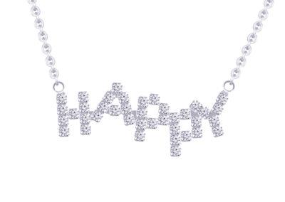 Náhrdelník Happy s křišťálovými kameny Preciosa - 2049 00
