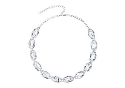 Náhrdelník stříbrný Elegancy s křišťálem Preciosa - 6870 00