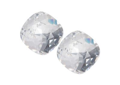 Náušnice stříbrné Brilliant Rose s českým křišťálem krystal - 6012 00