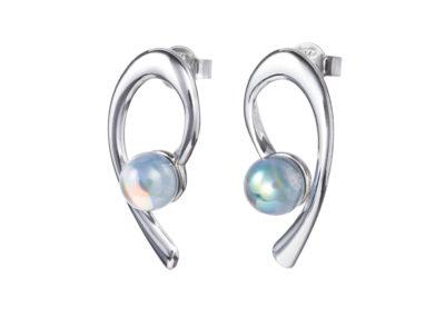 Náušnice stříbrné Crystal Dew s českým křišťálem Preciosa - 6813 42