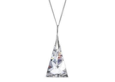 Přívěsek stříbrný Crystal Pyramid s českým křišťálem Preciosa - 6842 00