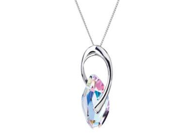Přívěsek stříbrný Graceful Style s českým křišťálem Preciosa - 6778 43