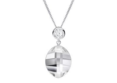 Přívěsek stříbrný Hana s českým křišťálem a kubickou zirkonií Preciosa - 6098 00