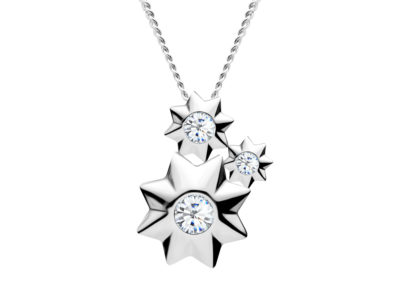 Přívěsek stříbrný Orion s kubickou zirkonií Preciosa - 5245 00