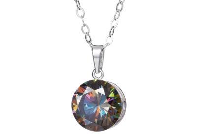 Přívěsek stříbrný Starry s kubickou zirkonií Preciosa - kombi - 5172 41