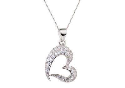 Přívěsek stříbrný Sweety s kubickou zirkonií Preciosa - 5046 00