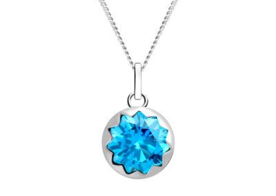 Přívěsek stříbrný Vela s kubickou zirkonií Preciosa, malý - 5252 67