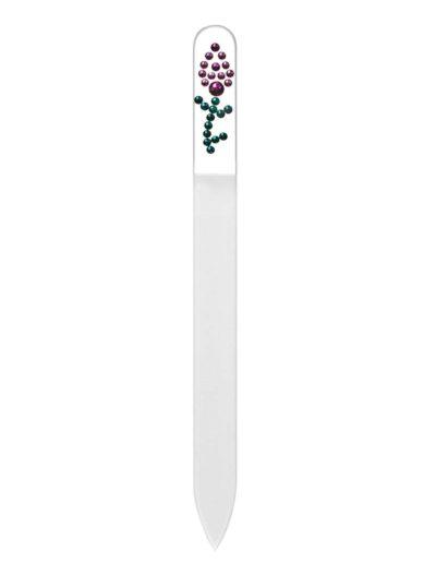 Pilník - čirý se Swarovski kameny SC11