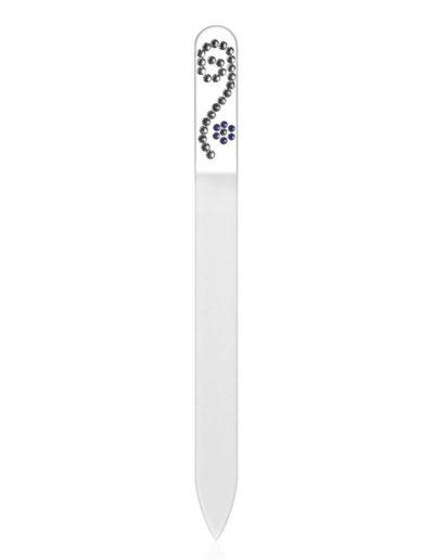 Pilník - čirý se Swarovski kameny SC30