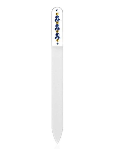 Pilník - čirý se Swarovski kameny SC38