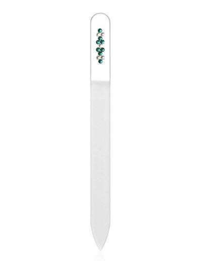 Pilník - čirý se Swarovski kameny SC39