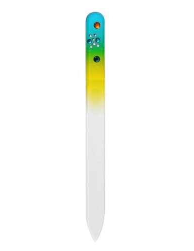 Pilník - barevný se Swarovski kameny CO410_SC18
