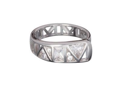 Prsten stříbrný Gentle Inspiration s kubickou zirkonií Preciosa - 6035 00