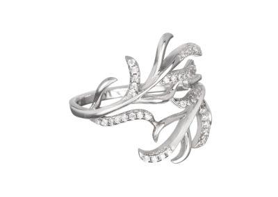 Prsten stříbrný Joy s kubickou zirkonií Preciosa - 5190 00