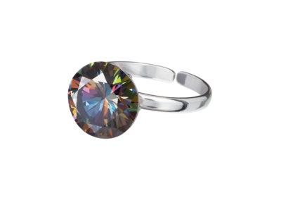 Prsten stříbrný Starry s kubickou zirkonií Preciosa - kombi - 5174 41