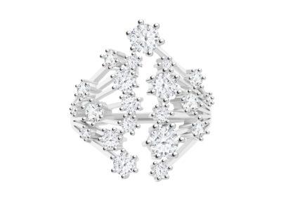 Prsten stříbrný Vela s kubickou zirkonií Preciosa - 5256 00